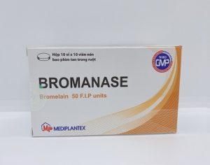 Bromanase - Giảm viêm sưng Và phù nề