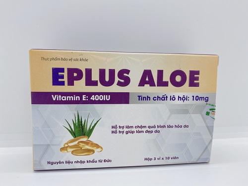 Eplus Aloe - Chống oxy hóa và đẹp da