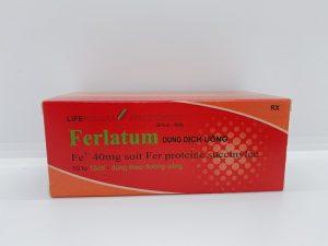 Ferlatum - Dung Dịch Uống Bổ Sung Sắt