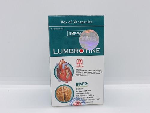 Lumbrotine - Phòng ngừa chứng xơ vữa động mạch