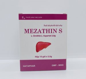 MEZATHIN S 3g Điều trị các bệnh về gan