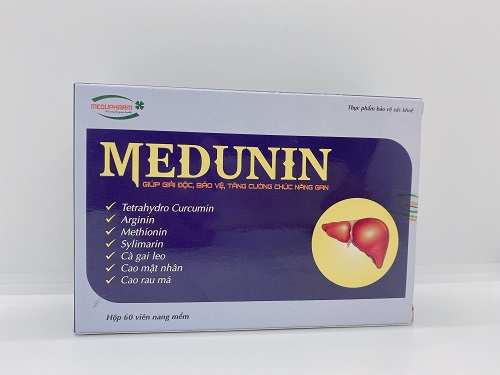 Medunin – Tăng cường bảo vệ chức năng Gan