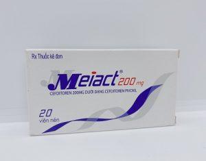 Meiact 200mg- Điều Trị Nhiễm Khuẩn