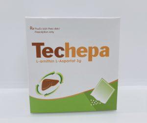Techepa 3g – Điều trị các bệnh lý về gan