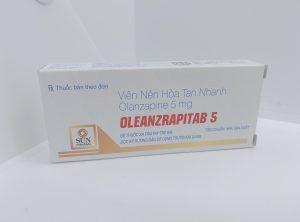 Thuốc Oleanzrapitab 5 – Điều trị bệnh tâm thần phân liệt