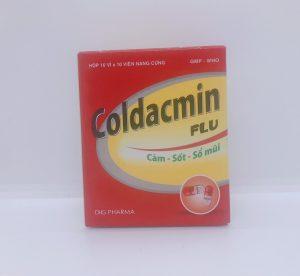 Coldacmin - Giảm Đau Hạ sốt