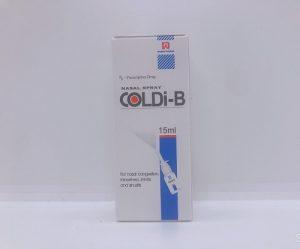 Coldi-B - Điều trị các triệu chứng sổ mũi và ngạt mũi