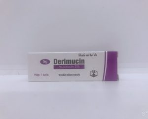Derimucin - Điều trị nhiễm khuẩn ngoài da